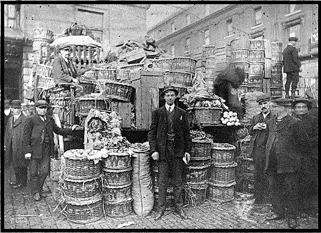 Early morning at Covent Garden around 1890.