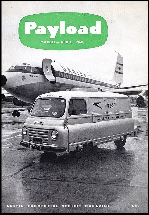A Gibbs supplied vehicle from 1960 designed for use at airports by aircraft maintenance staff.