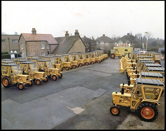 Greater london Council David Brown tractor order.