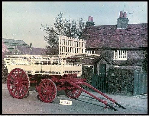 A wagon built for the Thompson Brothers of Garson Farm, Esher.