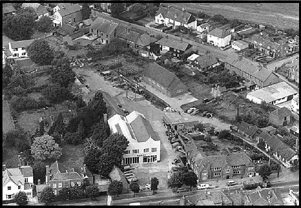 Aerial view of the Ripley branch.
