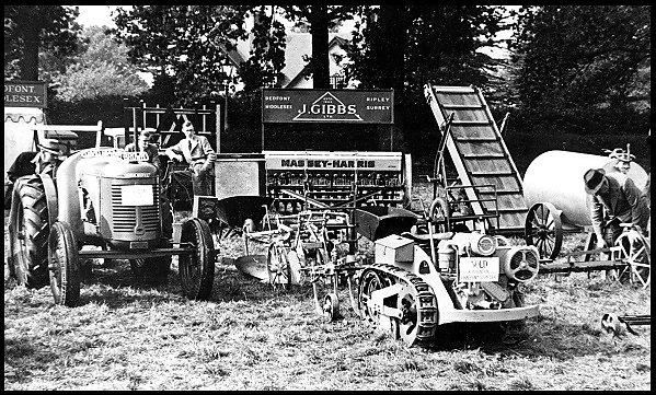 Chertsey Show in the 1950's.